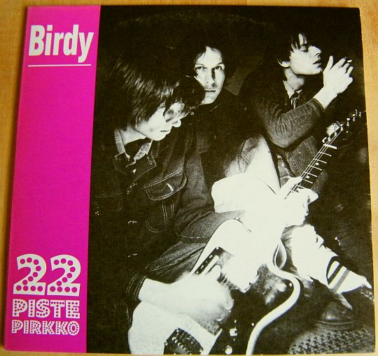 recto du CD promo 22 Pistepirkko - Birdy Collector
