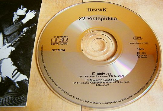CD single 22 Pistepirkko Collector