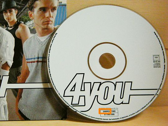 CD single promo Collector 4You interdit à la vente