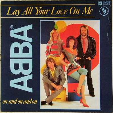 33t Abba Collector - Lay all your love on me