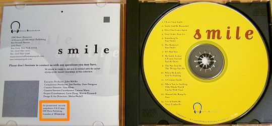 CD Collector Smile par EMI Music Ressources