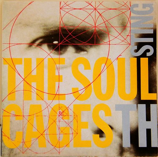 recto du 45 tours promo collector de Sting - The soul cages