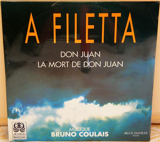 recto du CD single Collector promo 2 titres neuf d'A Filetta - Don Juan