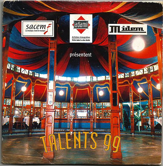 recto du sampler promo hors commerce Adami/Sacem/Midem - Talents 99