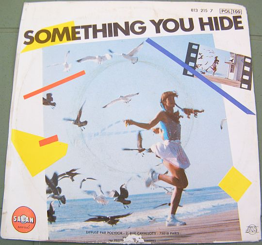 verso pochette Janny Logan - Something you hide Collector