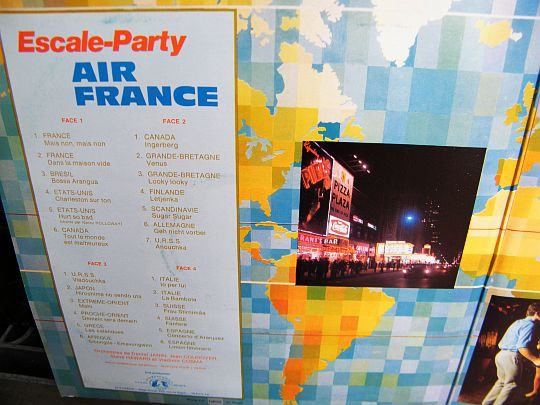 liste des morceaux du double album Air France Escale Party