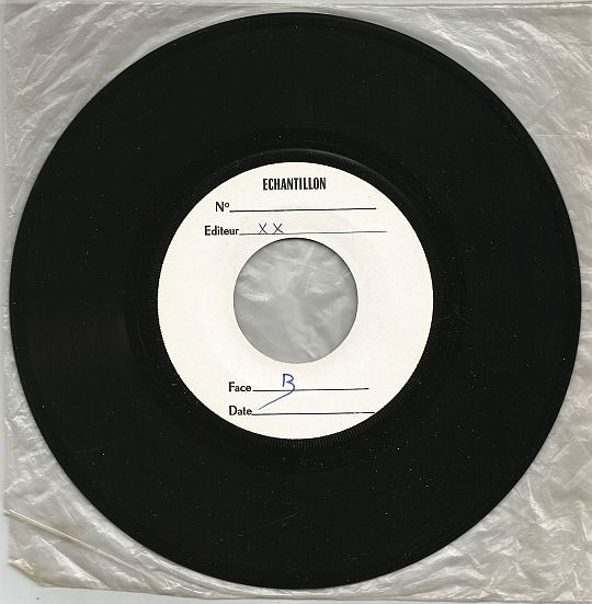 face B Distracted du SP Test Pressing/White Label échantillon d'Al Jarreau