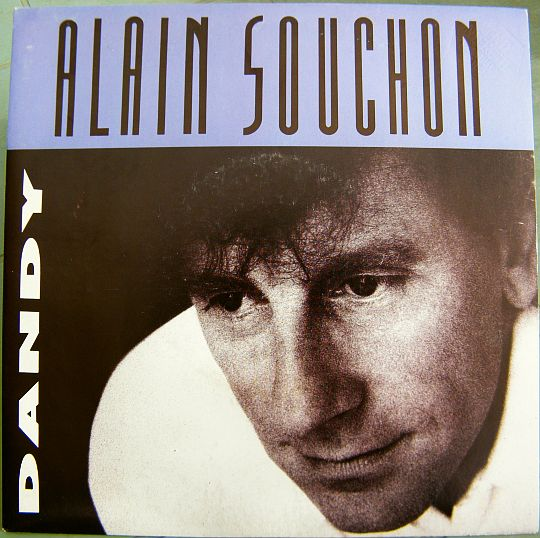 recto du 45 tours promo collector d'Alain Souchon - Dandy