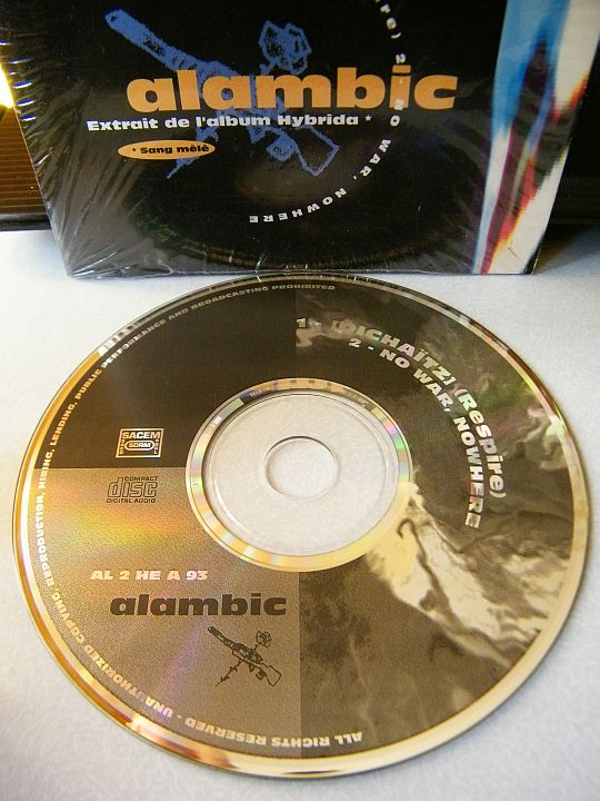 CD single Collector d'Alambic