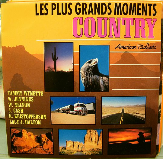 recto du 45 tours EP Collector promo d'American Ballads - Les plus grands moments Country