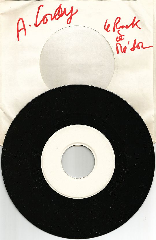 45t Test Pressing La vie en France d'Annie Cordy