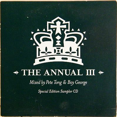 CD promo sampler Ministry of Sound - The annual 3