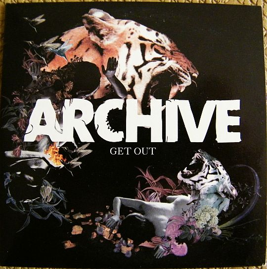 recto du CD promotionnel Collector d'Archive - Get out