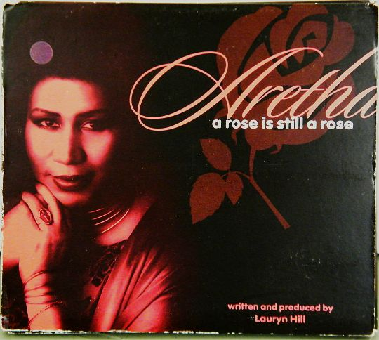 pochette recto du CD promo digipak d'Aretha Franklin - A rose is still a rose