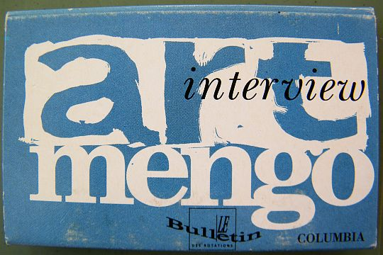 verso interview Art Mengo Collector
