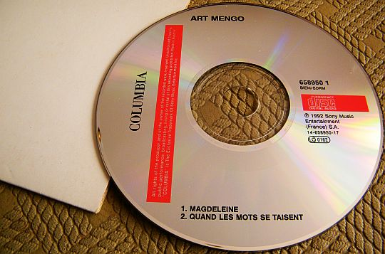 CD single Collector promotionnel Magdeleine d'Art Mengo