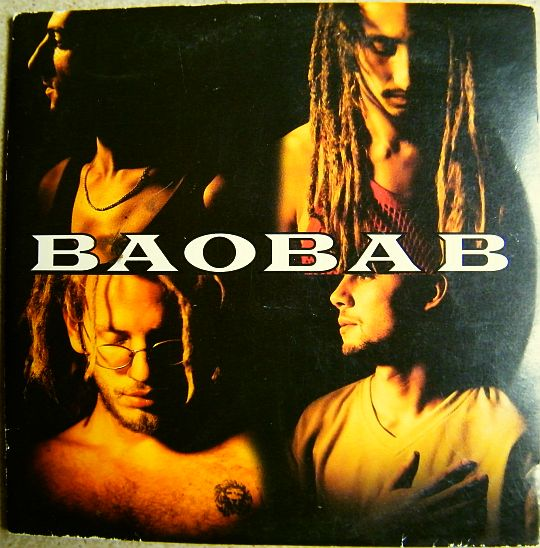 recto du CD sampler promo de Baobab - 3 mix dub