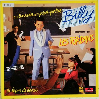 Billy et les Forbans - au temps des surprises-parties