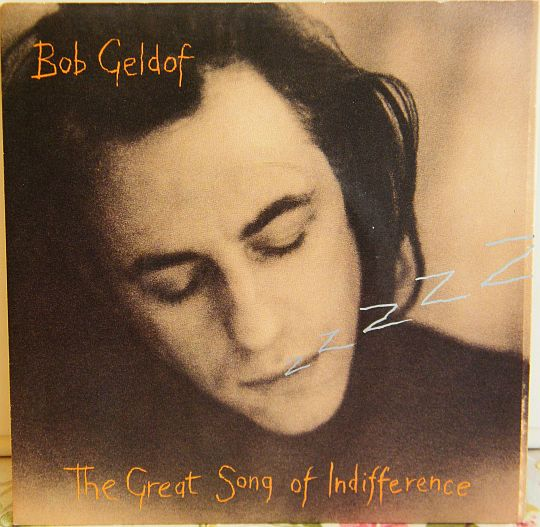 recto du 45 tours promo Collector de Bob Geldof - The great song of indifference