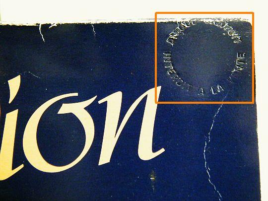 Disque vinyle maxi 45 tours de c line dion mon ami m 39 a - Vente privee celine dion ...