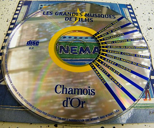 CD collector Chamois d'Or