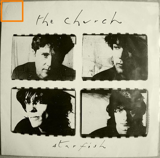 recto de l'album 33 tours promo Collector de The Church - Starfish
