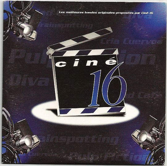 recto du maxi CD sampler hors commerce Ciné 16 de 1999