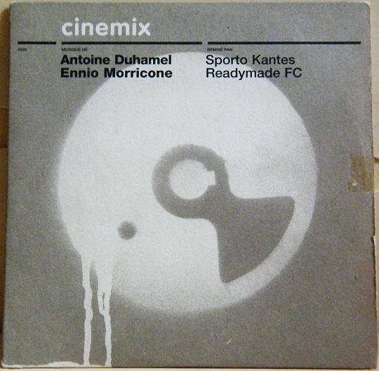 recto du CD promo sampler Collector Cinémix