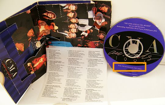 CD Collector des CMA Awards 93