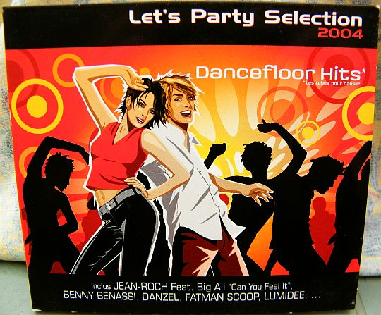 recto du CD sampler Collector Coca-Cola - Let's party selection 2004, dancefloor hits