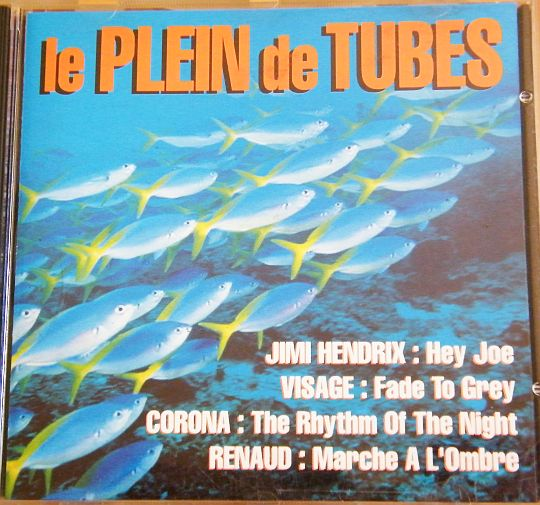 recto du CD collector le plein de tubes par Club Dial