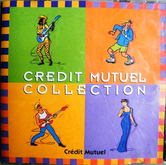 recto du CD collection Crédit Mutuel