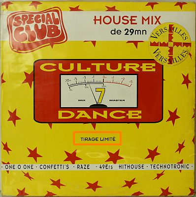 compilation Culture Dance 7 House mix