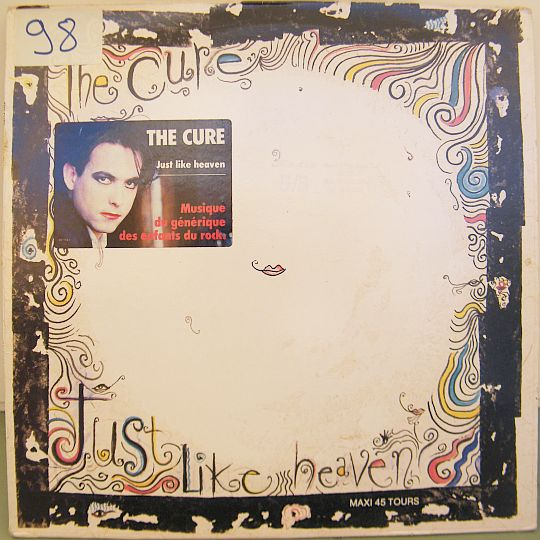 The Cure - recto du maxi 45 tours promo Just like heaven