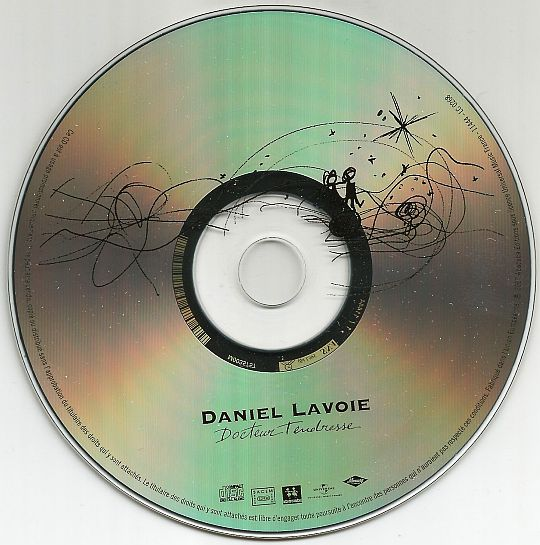 CD sampler promotionnel Docteur tendresse par Daniel Lavoie