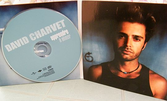 CD monotitre promotionnel de David Charvet - Apprendre à aimer