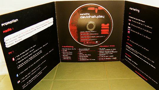David Hallyday - Satellite CD sampler promo version 2005