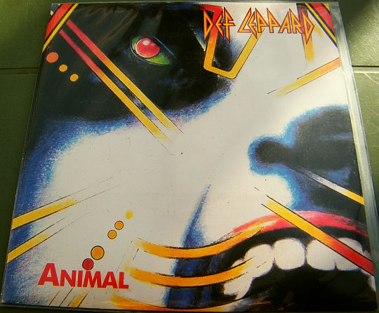 recto du 45 tours promo de Def Leppard - Animal