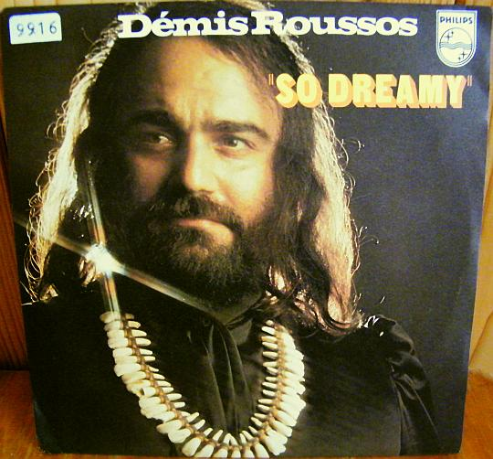 45t Collector promo de Démis Roussos - So dreamy