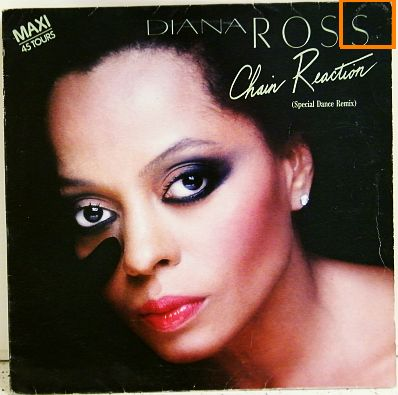 pochette maxi 45t Diana Ross - Chain reaction