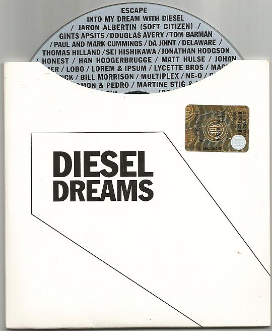 recto et DVD promotionnel Diesel Dreams - Escape into my dream(s)