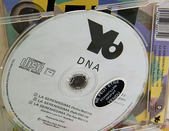 CD promo Collector La serenissima par DNA