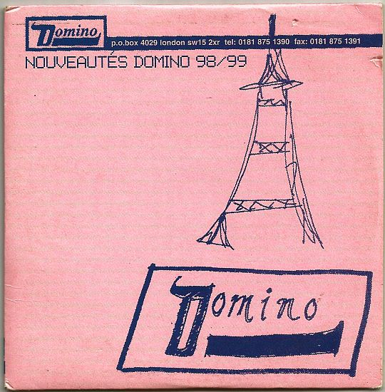 recto du CD sampler Collector promo Domino - nouveautés 98/99