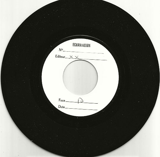 face B du 45 tours White Label Test Pressing de Donna Summer - Stop me