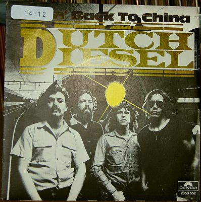 pochette Dutch Diesel - Goin' back to China