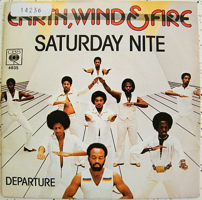 45t Collector d'Earth Wind & Fire - Saturday night