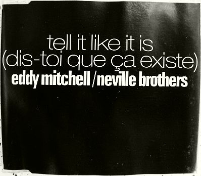 recto du monotitre promo Mitchell/Neville - Tell it like it is