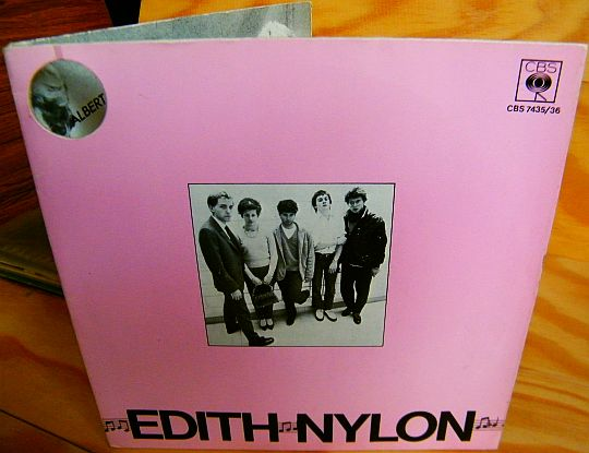recto du gatefold Collector d'Edith Nylon
