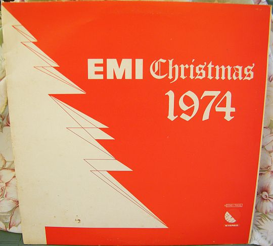 recto du LP Collector promo EMI Christmas 1974 spécial DJ