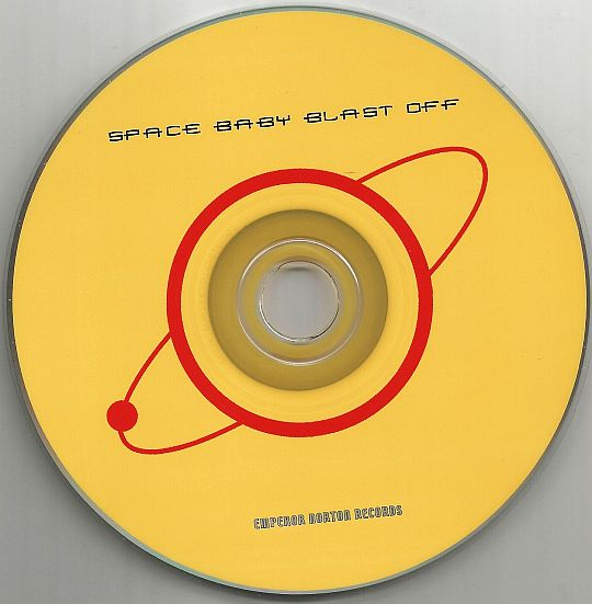 disque compact promotionnel Space baby blast off du label Emperor Norton Records